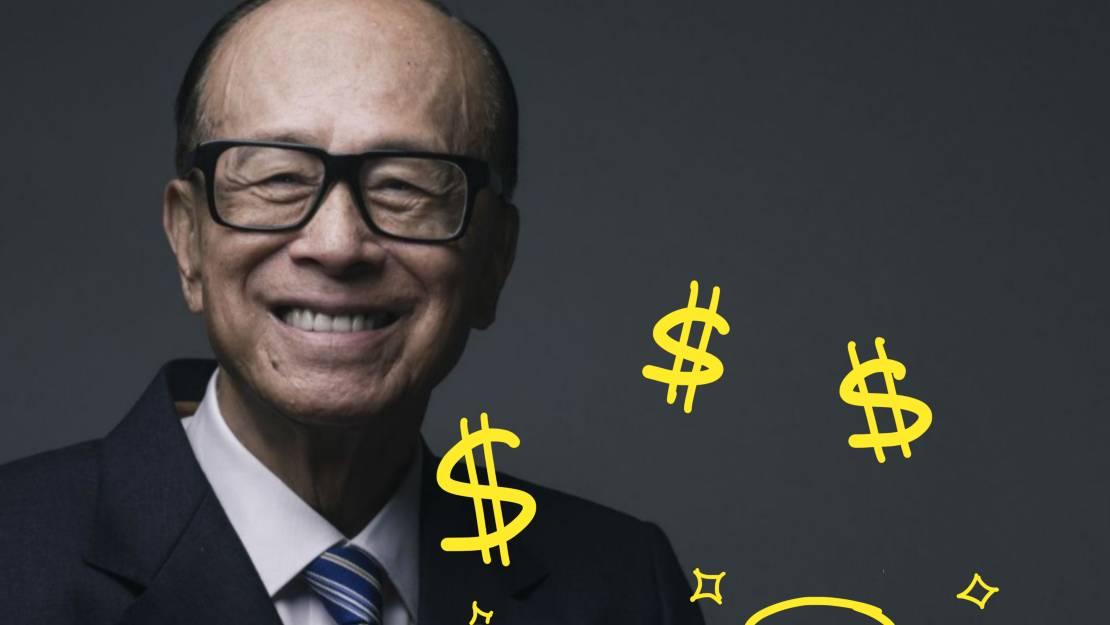 บริหารเงิน 5 ส่วนแบบเศรษฐี ลี กาชิง